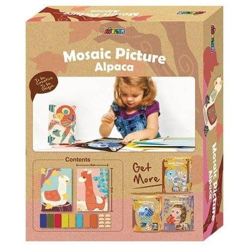 Mosaics Picture Alpaca
