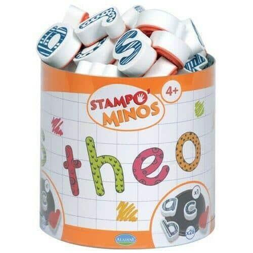 Stampo Minos Alphabet Kleinbuchstaben