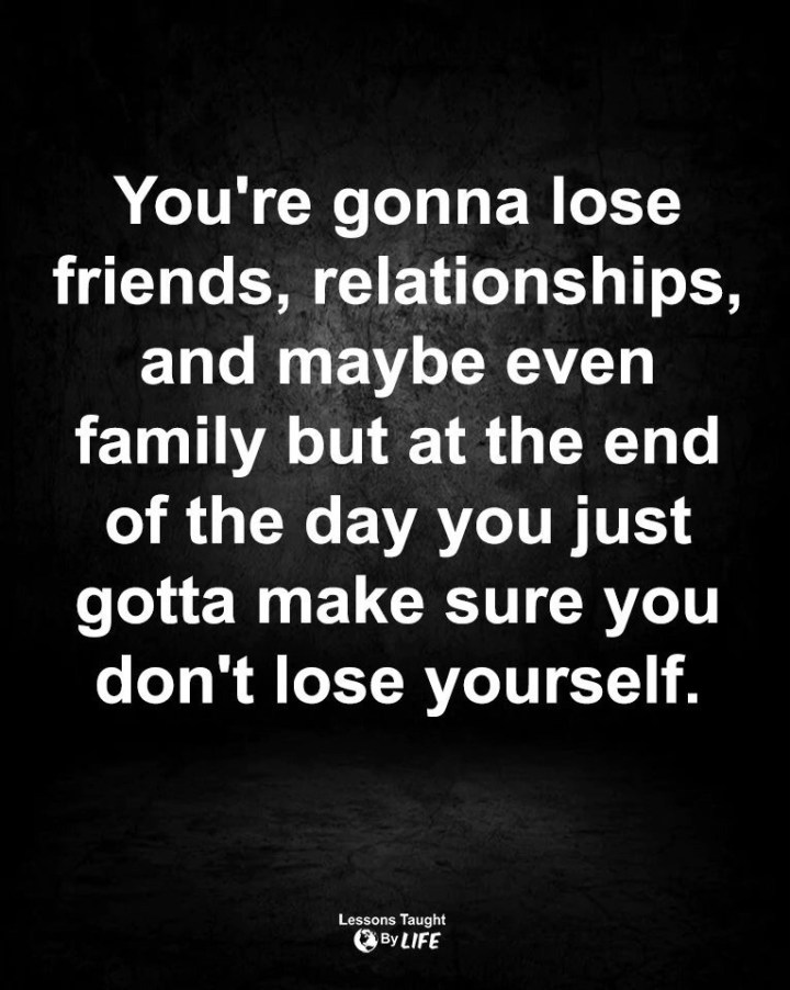"""Losing Yourself"""