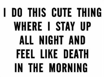 Insomnia and Feeling Like Death: Every insomniac Knows This Feeling
