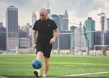 WE CAN KICK IT.  ADRIAN, THE FOUNDER & A BRAIN CANCER SURVIVOR
