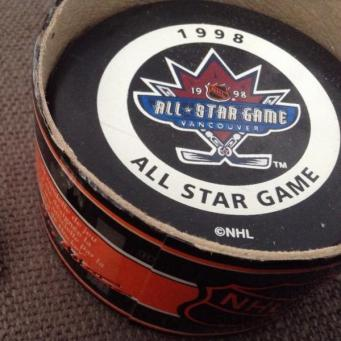 1998 All-Star Game Puck