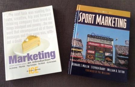 Textbooks: Marketing and Sports Marketing