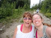 Mom's first selfie