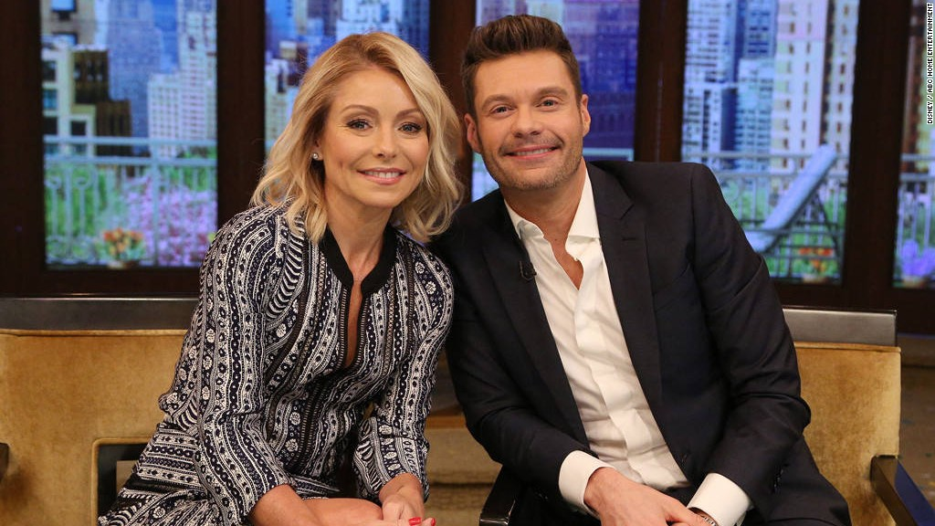 Here's How Much Co-Hosts Kelly Ripa And Ryan Seacrest Are Worth
