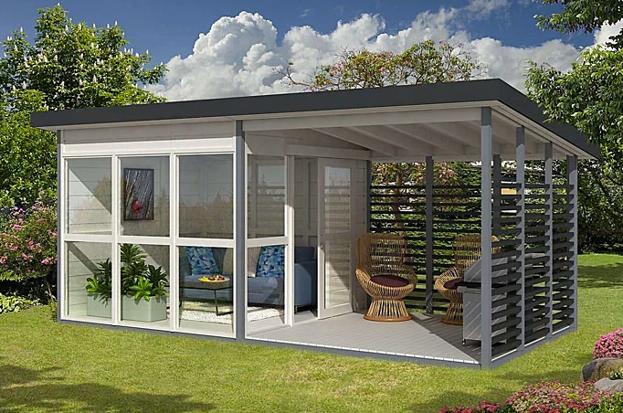 Amazon is selling a tiny house that you can build in your backyard in just 8 hours