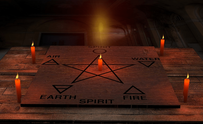 Eerie witchcraft symbols discovered across one country