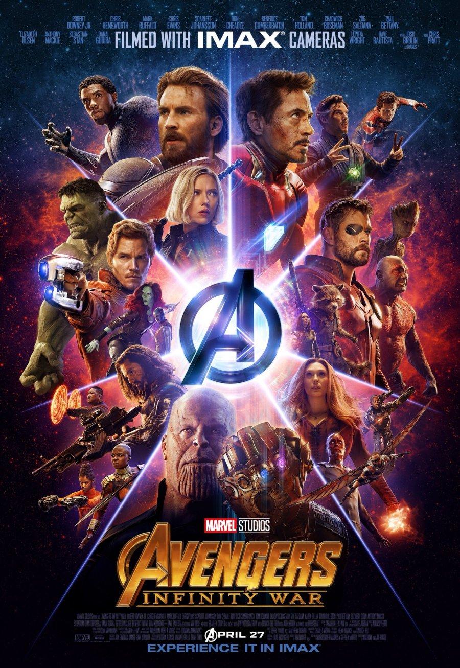 """Résultat de recherche d'images pour """"avengers infinity war affiche imax"""""""