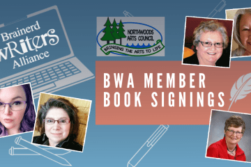 BWA Members at Northwoods Art Council Art & Book Fair