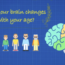 How your brain changes with your age