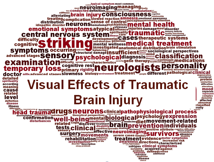 Can a brain injury affect your vision? Yes, it can!