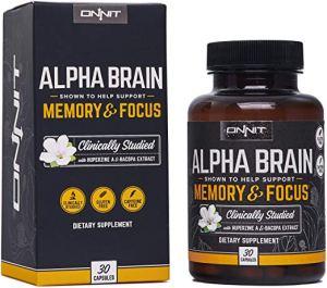 Top 5 Best Brain Supplements To Improve Focus – Updated 2019