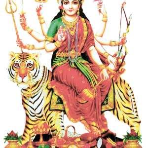 Durga Rides the Tiger