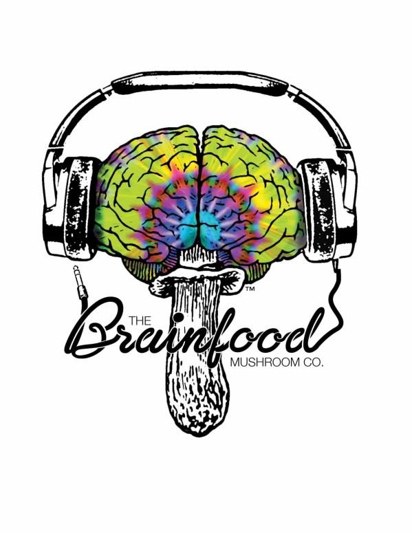 Mushroom Tshirt DJ Headphones