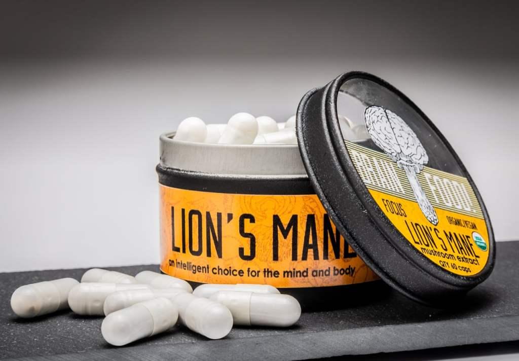 Lion's Mane Mushroom Supplements