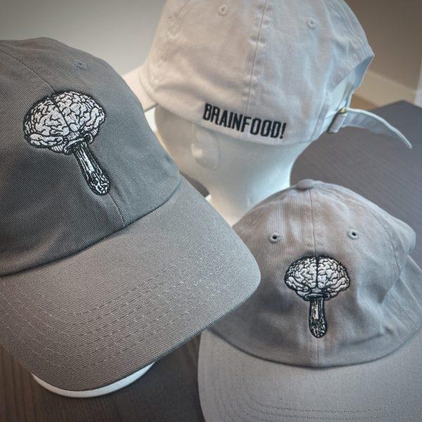 brainfood mushroom dad hat