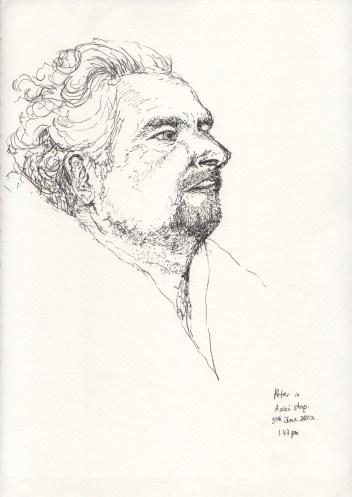 Portrait of Peter Hristoff