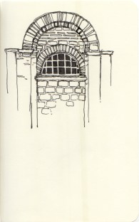 Architectural Study of Chora Museum Archway