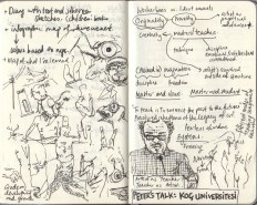 Sketches and Notes from Peter's Lecture