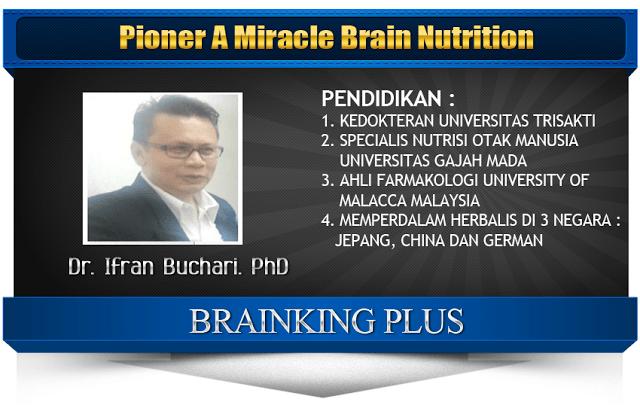 Dr. Irfan yang Memulai Sejarah Brainking Plus