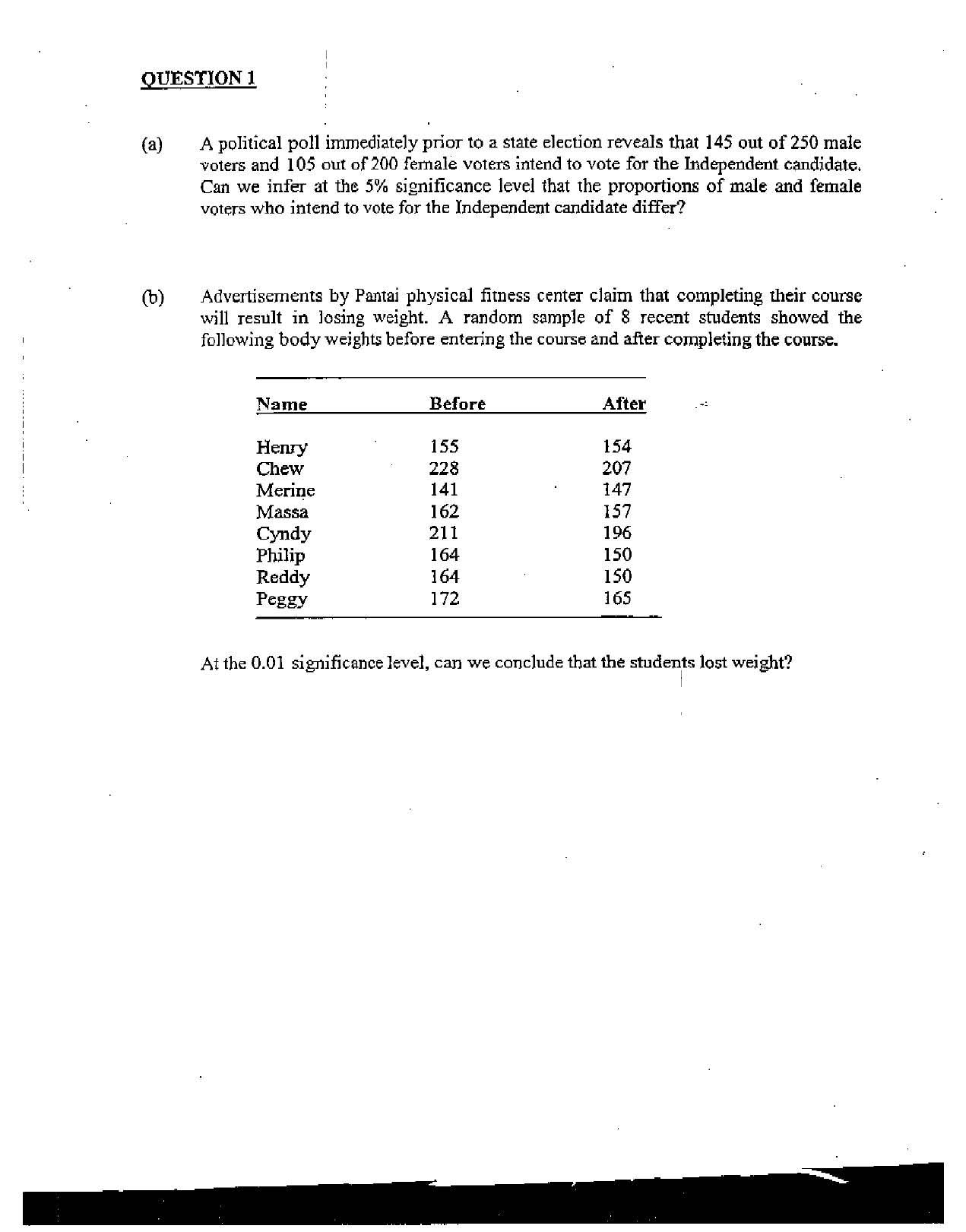 Hypothesis Test Difference Between Proportions T Test