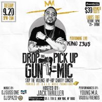 Event: Drop The Gun Pick Up The Mic Stop The Violence Hip Hop Charity Event