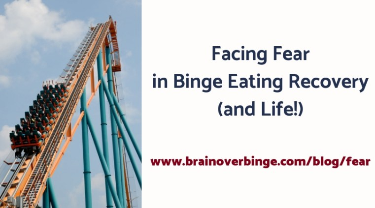 Fear in binge eating recovery