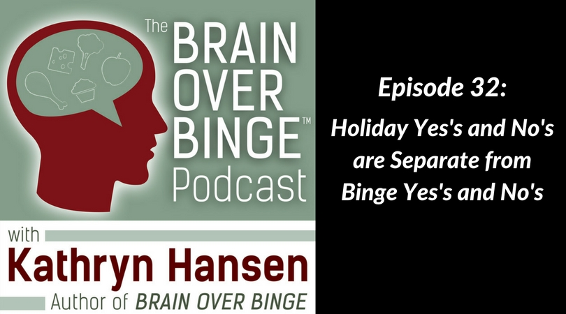 Holidays and bingeing podcast