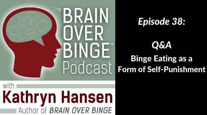 Binge eating self-punishment (podcast)