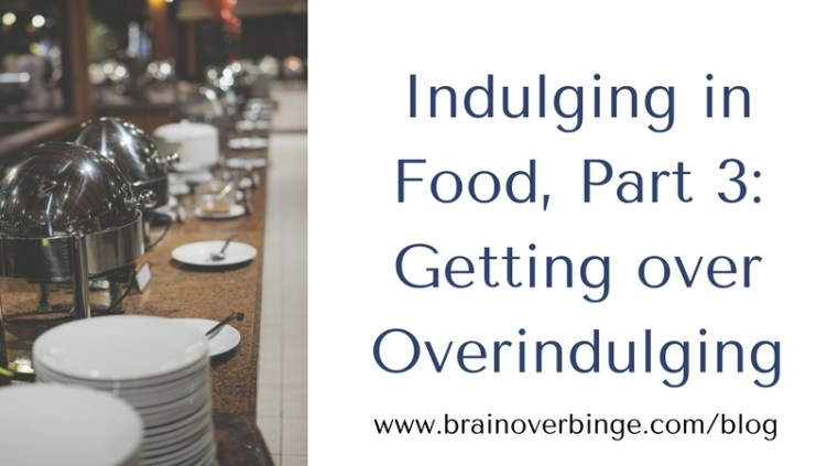 Overindulging in food