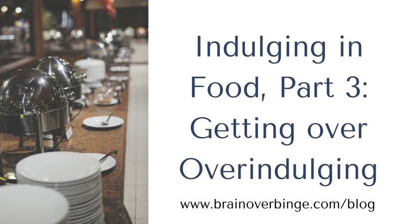 Overindulging in food