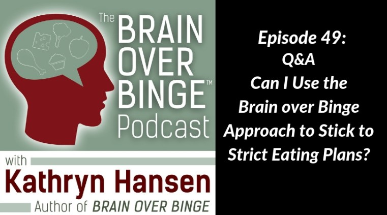 Brain over Binge Bright Line Eating
