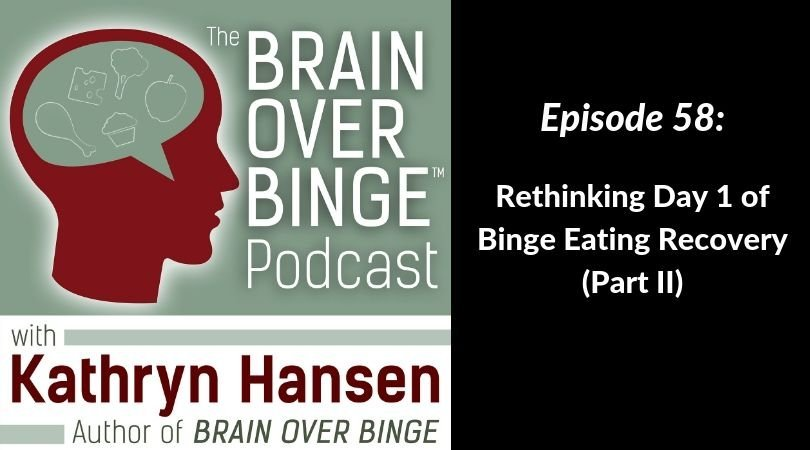 Starting over in binge eating recovery (podcast)