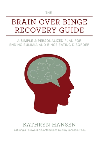Brain over Binge Recovery Guide Book Cover