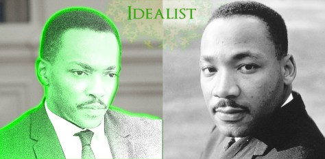 Champion Idealist Martin Luther King, Jr.