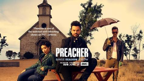 AMC, Preacher, AMCtv, Hulu