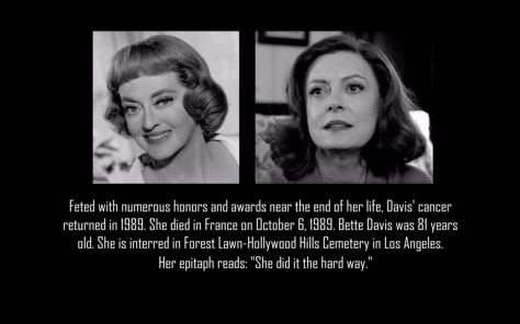 Bette Davis, Feud, Feud: Bette and Joan, FX Networks, 20th Century FOX TV, Susan Sarandon