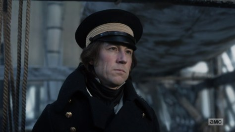 Commander James Fitzjames, The Terror, AMC, AMCtv, Scott Free Productions, Entertainment 360, Emjag Productions, AMC Studios, Tobias Menzies