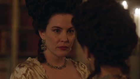 Lady Isabella Fitzwilliam, Harlots, Hulu, Monumental Pictures, ITV Encore, ITV plc, Liv Tyler