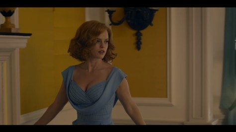 Gwenda Vaughn, Ordeal By Innocence, BBC One, Amazon Prime Video, Mammoth Screen, Agatha Christie Limited, Alice Eve