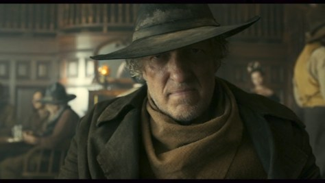 Curly Joe, The Ballad of Buster Scruggs, Netflix, Annapurna Pictures, The Coen Brothers, Clancy Brown