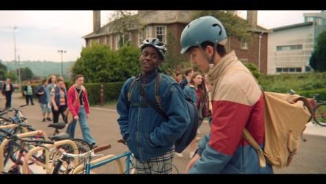 Eric Effoing, Sex Education, Netflix, Eleven Film, Ncuti Gatwa