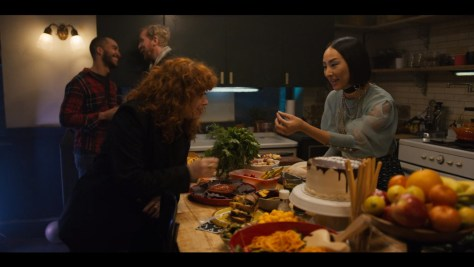 Maxine, Russian Doll, Netflix, Universal Television, Paper Kite Productions, Jax Media, 3 Arts Entertainment, Greta Lee