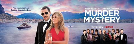Murder Mystery, Netflix, Happy Madison Productions, Endgame Entertainment, Vinson Films, Denver & Delilah Films, Tower Hill Entertainment, Mythology Entertainment