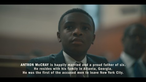 Antron McCray, When They See Us, Netflix, Harpo Films, Tribeca Productions, ARRAY, Participant Media, Caleel Harris