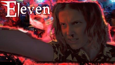 Eleven, Stranger Things, Netflix, 21 Laps Entertainment, Monkey Massacre, Millie Bobby Brown