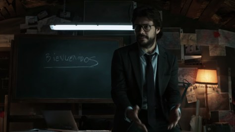 El Profesor, Sergio Marquina, Money Heist, La Casa de Papel, Netflix, Vancouver Media, Atresmedia, Álvaro Morte