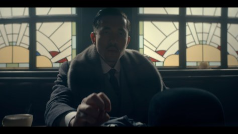 Brilliant Chang, Peaky Blinders, BBC One, British Broadcasting Corporation, Caryn Mandabach Productions, Tiger Aspect Productions, Netflix, Andrew Koji
