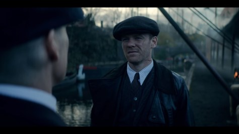 Jimmy McCavern, Peaky Blinders, BBC One, British Broadcasting Corporation, Caryn Mandabach Productions, Tiger Aspect Productions, Netflix, Brian Gleeson
