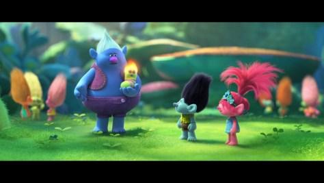 Biggie, Trolls World Tour, Universal Pictures, Dreamworks Animation, Dentsu, James Corden